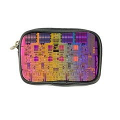 Circuit Board Pattern Lynnfield Die Coin Purse by Simbadda