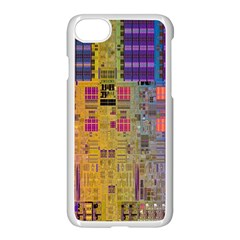 Circuit Board Pattern Lynnfield Die Apple Iphone 7 Seamless Case (white)