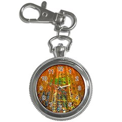 Circuit Board Pattern Key Chain Watches by Simbadda