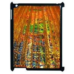 Circuit Board Pattern Apple Ipad 2 Case (black) by Simbadda