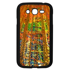 Circuit Board Pattern Samsung Galaxy Grand Duos I9082 Case (black)