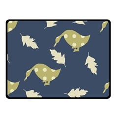 Duck Tech Repeat Fleece Blanket (small) by Simbadda
