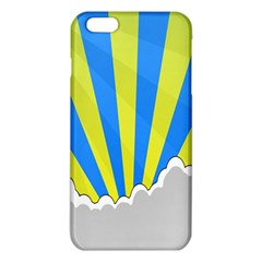 Sunlight Clouds Blue Sky Yellow White Iphone 6 Plus/6s Plus Tpu Case