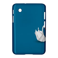 Swan Animals Swim Blue Water Samsung Galaxy Tab 2 (7 ) P3100 Hardshell Case