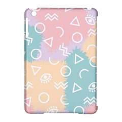 Triangle Circle Wave Eye Rainbow Orange Pink Blue Sign Apple Ipad Mini Hardshell Case (compatible With Smart Cover)