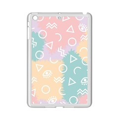Triangle Circle Wave Eye Rainbow Orange Pink Blue Sign Ipad Mini 2 Enamel Coated Cases