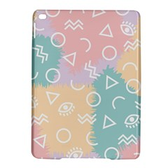 Triangle Circle Wave Eye Rainbow Orange Pink Blue Sign Ipad Air 2 Hardshell Cases by Alisyart
