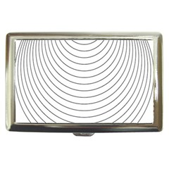 Wave Black White Line Cigarette Money Cases