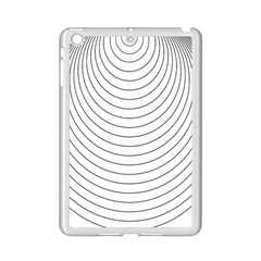 Wave Black White Line Ipad Mini 2 Enamel Coated Cases by Alisyart