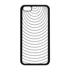 Wave Black White Line Apple Iphone 5c Seamless Case (black)