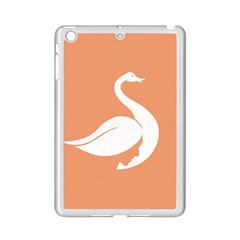 Swan Girl Face Hair Face Orange White Ipad Mini 2 Enamel Coated Cases
