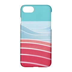 Wave Waves Blue Red Apple Iphone 7 Hardshell Case