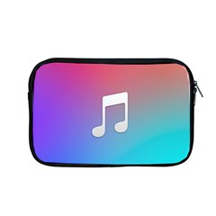 Tunes Sign Orange Purple Blue White Music Notes Apple Macbook Pro 13  Zipper Case
