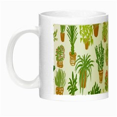 Flowers Pattern Night Luminous Mugs by Simbadda