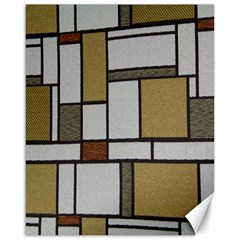 Fabric Textures Fabric Texture Vintage Blocks Rectangle Pattern Canvas 16  X 20