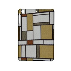 Fabric Textures Fabric Texture Vintage Blocks Rectangle Pattern Ipad Mini 2 Hardshell Cases by Simbadda