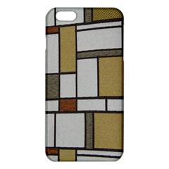 Fabric Textures Fabric Texture Vintage Blocks Rectangle Pattern Iphone 6 Plus/6s Plus Tpu Case