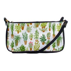 Flowers Pattern Shoulder Clutch Bags by Simbadda