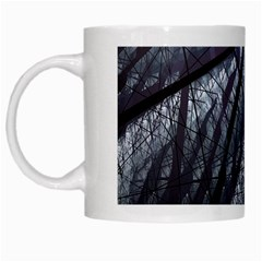 Fractal Art Picture Definition  Fractured Fractal Texture White Mugs
