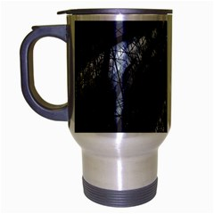 Fractal Art Picture Definition  Fractured Fractal Texture Travel Mug (silver Gray) by Simbadda