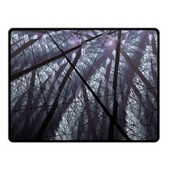 Fractal Art Picture Definition  Fractured Fractal Texture Fleece Blanket (small) by Simbadda