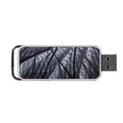 Fractal Art Picture Definition  Fractured Fractal Texture Portable Usb Flash (one Side)