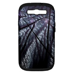 Fractal Art Picture Definition  Fractured Fractal Texture Samsung Galaxy S Iii Hardshell Case (pc+silicone) by Simbadda
