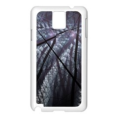 Fractal Art Picture Definition  Fractured Fractal Texture Samsung Galaxy Note 3 N9005 Case (white) by Simbadda