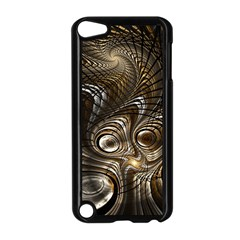 Fractal Art Texture Neuron Chaos Fracture Broken Synapse Apple Ipod Touch 5 Case (black) by Simbadda