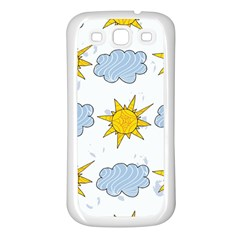 Sunshine Tech White Samsung Galaxy S3 Back Case (white)