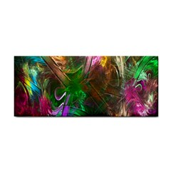 Fractal Texture Abstract Messy Light Color Swirl Bright Cosmetic Storage Cases by Simbadda