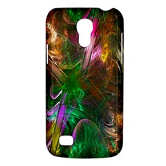 Fractal Texture Abstract Messy Light Color Swirl Bright Galaxy S4 Mini by Simbadda