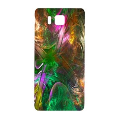 Fractal Texture Abstract Messy Light Color Swirl Bright Samsung Galaxy Alpha Hardshell Back Case