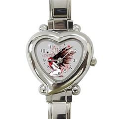 Dominance Heart Italian Charm Watch by lvbart