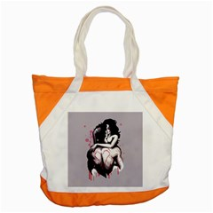 Love Marks Accent Tote Bag by lvbart