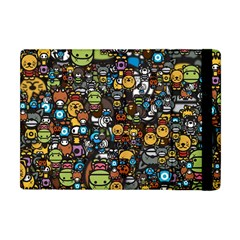 Many Funny Animals Apple Ipad Mini Flip Case by Simbadda