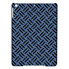 Woven2 Black Marble & Blue Denim (r) Apple Ipad Air Hardshell Case by trendistuff