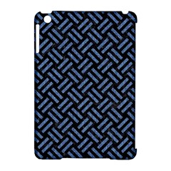 Woven2 Black Marble & Blue Denim Apple Ipad Mini Hardshell Case (compatible With Smart Cover) by trendistuff