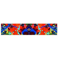 Breath Of Life Flano Scarf (small)  by AlmightyPsyche