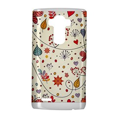 Spring Floral Pattern With Butterflies Lg G4 Hardshell Case by TastefulDesigns