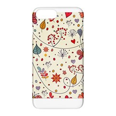 Spring Floral Pattern With Butterflies Apple Iphone 7 Plus Hardshell Case by TastefulDesigns