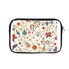 Spring Floral Pattern With Butterflies Apple Macbook Pro 13  Zipper Case