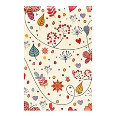 Spring Floral Pattern With Butterflies Shower Curtain 48  X 72  (small)