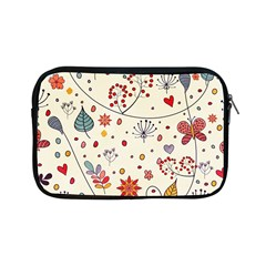 Spring Floral Pattern With Butterflies Apple Ipad Mini Zipper Cases