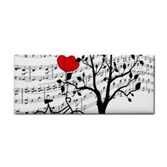 Love Song Cosmetic Storage Cases by Valentinaart