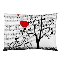 Love Song Pillow Case by Valentinaart