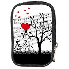 Love Song Compact Camera Cases by Valentinaart