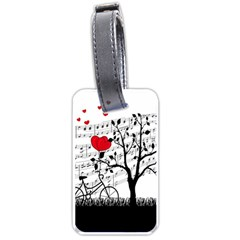 Love Song Luggage Tags (two Sides) by Valentinaart