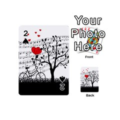 Love Song Playing Cards 54 (mini)  by Valentinaart
