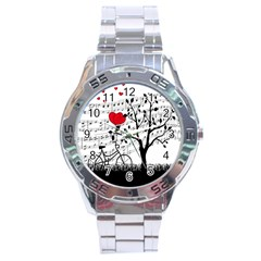 Love Song Stainless Steel Analogue Watch by Valentinaart